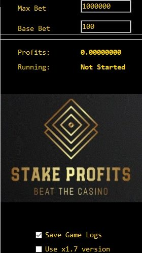 New update Stake Profits bot released